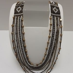 NATIVE ETHNIC SEED NECKLACE